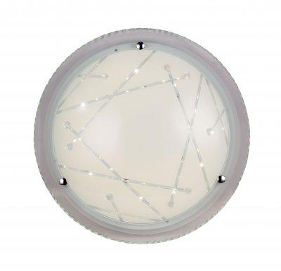 Светильник настенно-потолочный St luce SL493.552.01 UniversaleКруглые<br>Касаемо коллекции модели St luce SL493.552.01 хотелось бы отметить основные моменты: Светильники серии Universale - идеально подходят для размещения как на стене, так и на потолке! За счет современной технологии LED они сочетают в себе экономичность в потреблении электроэнергии, но в то же время обладают ярким световым потоком. Основание светильников изготовленно из металла, плафон светильника изготовлен из стекла.<br><br>S освещ. до, м2: 13<br>Крепление: планка<br>Цветовая t, К: WW - теплый белый 2700-3000 К<br>Тип лампы: LED - светодиодная<br>Тип цоколя: LED<br>Цвет арматуры: белый<br>Количество ламп: 1<br>Диаметр, мм мм: 530<br>Высота, мм: 125<br>Поверхность арматуры: матовая<br>MAX мощность ламп, Вт: 32