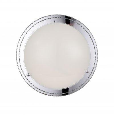 Светильник настенно-потолочный St luce SL494.552.01 UniversaleКруглые<br>Касаемо коллекции модели St luce SL494.552.01 хотелось бы отметить основные моменты: Светильники серии Universale - идеально подходят для размещения как на стене, так и на потолке! За счет современной технологии LED они сочетают в себе экономичность в потреблении электроэнергии, но в то же время обладают ярким световым потоком. Основание светильников изготовленно из металла, плафон светильника изготовлен из стекла.<br><br>S освещ. до, м2: 13<br>Крепление: планка<br>Цветовая t, К: WW - теплый белый 2700-3000 К<br>Тип лампы: LED - светодиодная<br>Тип цоколя: LED<br>Количество ламп: 1<br>MAX мощность ламп, Вт: 32<br>Диаметр, мм мм: 530<br>Высота, мм: 125<br>Поверхность арматуры: матовая<br>Цвет арматуры: белый