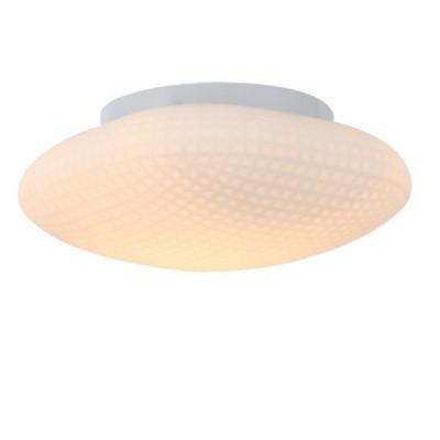 Светильник настенно-потолочный St luce SL504.552.01Круглые<br>Минимализм, простота, стиль – все эти качества сочетает в себе настенно-потолочный светильник  Pone. Белое металлическое основание надежно удерживает плафон из белого рифленого стекла. Компактная люстра Pone мягко осветит небольшое помещение . Несколько светильников подойдут для освещения интерьера холла, зала, коридора, оформленных в современном стиле.<br><br>S освещ. до, м2: 3<br>Крепление: планка<br>Тип лампы: накаливания / энергосбережения / LED-светодиодная<br>Тип цоколя: E27<br>Цвет арматуры: белый<br>Количество ламп: 1<br>Диаметр, мм мм: 250<br>Высота, мм: 100<br>MAX мощность ламп, Вт: 60
