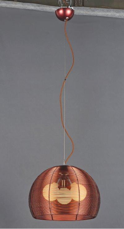 Светильник подвесной St luce SL512.803.03Одиночные<br>Касаемо коллекции модели St luce SL512.803.03 хотелось бы отметить основные моменты: Mandrino - яркая и запоминающаяся коллекция современных функциональных светильников, в которых главным акцентом являются абажуры, выполненные из металла в цветах алюминий или кофейный. За счет конструкции абажуров свет получается мягким и рассеянным. Торшер серии Mandrino станет главенствующим декоративным элементом интерьера. За счет надежного выдвижного и шарнирного механизма можно изменять высоту, длину изгиба и поворот плафона торшера. Торшер уравновешен мраморной плитой в основании. Все светильники коллекции Maлdrino комплектуются матовыми лампами.<br><br>S освещ. до, м2: 9<br>Крепление: планка<br>Тип лампы: накаливания / энергосбережения / LED-светодиодная<br>Тип цоколя: E27<br>Количество ламп: 3<br>Ширина, мм: 400<br>MAX мощность ламп, Вт: 60<br>Диаметр, мм мм: 400<br>Длина, мм: 400<br>Высота, мм: 430<br>Поверхность арматуры: матовая<br>Оттенок (цвет): коричневый<br>Цвет арматуры: коричневый