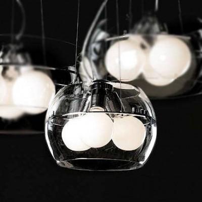 Светильник St Luce SL512.123.03Подвесные<br>Если Вы настроены купить светильник модели SL51212303, то обратите внимание: Светильники коллекции Uovo - это смелое решение в оформлении помещения. Необычный дизайн люстры и торшера отлично дополняют интерьер в стиле хай-тек или минимализм. Металлическая арматура светильников хромирована. Абажур из прозрачного или дымчатого стекла. Светильник укомплектован матовыми лампочками.<br><br>Установка на натяжной потолок: Да<br>S освещ. до, м2: 15<br>Тип лампы: Накаливания / энергосбережения / светодиодная<br>Тип цоколя: E27<br>Количество ламп: 3<br>Диаметр, мм мм: 400<br>Высота, мм: 1300<br>MAX мощность ламп, Вт: 100