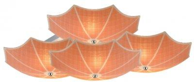 Светильник потолочный St luce SL524.092.09Потолочные<br>Если Вы настроены купить светильник модели SL52409209, то обратите внимание: Дизайн коллекции светильников Iride навевает только самые приятные ассоциации. Кто-то увидит семейство экзотических лотосов, а кто-то – разноцветные шляпки зонтиков. Это яркие и заметные люстры, которые прекрасно дополнят стильный и смелый интерьер, заявляя окружающим об оригинальном вкусе владельца. Небесно-голубой, теплый оранжевый, персиковая пастель, золотисто-желтый и смесь из всех четырех вариаций- это цвета стеклянных плафонов,которые крепятся на матовом серебристом металлическом основании. Свет, проникая через плафоны люструы, едва заметно окрашивается холодным или теплым оттенком, позволяя подобрать необходимую атмосферу: тонус и продуктивность или томность и уют.<br><br>Установка на натяжной потолок: Ограничено<br>S освещ. до, м2: 24<br>Крепление: Планка<br>Тип лампы: накаливания / энергосбережения / LED-светодиодная<br>Тип цоколя: E27<br>Количество ламп: 9<br>Ширина, мм: 700<br>MAX мощность ламп, Вт: 40<br>Длина, мм: 700<br>Высота, мм: 200<br>Поверхность арматуры: матовая<br>Оттенок (цвет): оранжевый<br>Цвет арматуры: оранжевый