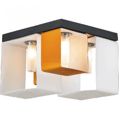 Люстра потолочная St luce SL536.092.04Потолочные<br>Касаемо коллекции модели St luce SL536.092.04 хотелось бы отметить основные моменты: Оригинальные светильники коллекции Concreto украсят современный интерьер в стиле хай-тек, минимализм, лофт, постмодерн. Это отличный вариант для освещения комнаты, кабинета или офисного помещения. Благодаря модным контрастным сочетаниям цветов, светильники станут яркой деталью интерьера. Основание выполнено из металла, плафоны стеклянные.<br><br>Установка на натяжной потолок: Ограничено<br>S освещ. до, м2: 10<br>Крепление: Планка<br>Тип лампы: галогенная / LED-светодиодная<br>Тип цоколя: G9<br>Цвет арматуры: бронзовый<br>Количество ламп: 4<br>Ширина, мм: 235<br>Длина, мм: 235<br>Высота, мм: 175<br>Поверхность арматуры: матовая<br>Оттенок (цвет): янтарный<br>MAX мощность ламп, Вт: 40