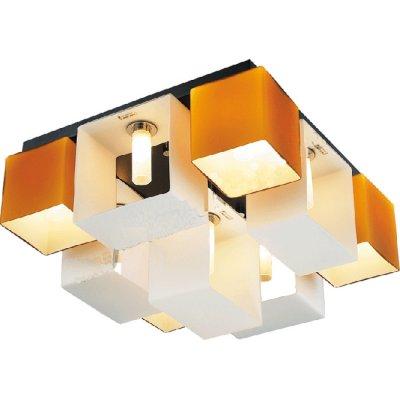 Люстра потолочная St luce SL536.092.09Потолочные<br>Касаемо коллекции модели St luce SL536.092.09 хотелось бы отметить основные моменты: Оригинальные светильники коллекции Concreto украсят современный интерьер в стиле хай-тек, минимализм, лофт, постмодерн. Это отличный вариант для освещения комнаты, кабинета или офисного помещения. Благодаря модным контрастным сочетаниям цветов, светильники станут яркой деталью интерьера. Основание выполнено из металла, плафоны стеклянные.<br><br>Установка на натяжной потолок: Ограничено<br>S освещ. до, м2: 24<br>Крепление: Планка<br>Тип лампы: галогенная / LED-светодиодная<br>Тип цоколя: G9<br>Количество ламп: 9<br>Ширина, мм: 420<br>MAX мощность ламп, Вт: 40<br>Длина, мм: 420<br>Высота, мм: 230<br>Поверхность арматуры: матовая<br>Оттенок (цвет): янтарный<br>Цвет арматуры: бронзовый