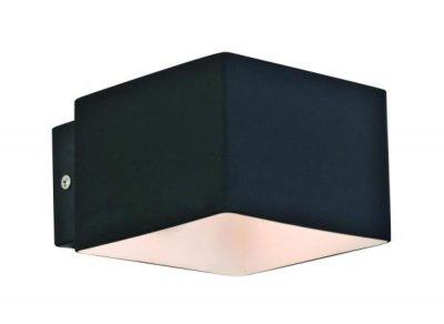 Светильник бра черный St luce SL536.401.01Современные<br>Касаемо коллекции модели St luce SL536.401.01 хотелось бы отметить основные моменты: Оригинальные светильники коллекции Concreto украсят современный интерьер в стиле хай-тек, минимализм, лофт, постмодерн. Это отличный вариант для освещения комнаты, кабинета или офисного помещения. Благодаря модным контрастным сочетаниям цветов, светильники станут яркой деталью интерьера. Основание выполнено из металла, плафоны стеклянные.<br><br>S освещ. до, м2: 2<br>Крепление: планка<br>Тип лампы: галогенная / LED-светодиодная<br>Тип цоколя: G9<br>Цвет арматуры: черный<br>Количество ламп: 1<br>Ширина, мм: 102<br>Длина, мм: 70<br>Расстояние от стены, мм: 70<br>Высота, мм: 102<br>Поверхность арматуры: матовая<br>Оттенок (цвет): черный<br>MAX мощность ламп, Вт: 40