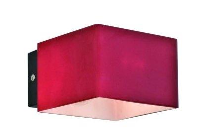 Светильник St luce SL536.601.01Современные<br>Касаемо коллекции модели St luce SL536.601.01 хотелось бы отметить основные моменты: Оригинальные светильники коллекции Concreto украсят современный интерьер в стиле хай-тек, минимализм, лофт, постмодерн. Это отличный вариант для освещения комнаты, кабинета или офисного помещения. Благодаря модным контрастным сочетаниям цветов, светильники станут яркой деталью интерьера. Основание выполнено из металла, плафоны стеклянные.<br><br>S освещ. до, м2: 2<br>Крепление: планка<br>Тип лампы: галогенная / LED-светодиодная<br>Тип цоколя: G9<br>Количество ламп: 1<br>Ширина, мм: 102<br>MAX мощность ламп, Вт: 40<br>Длина, мм: 70<br>Расстояние от стены, мм: 70<br>Высота, мм: 102<br>Поверхность арматуры: матовая<br>Оттенок (цвет): красный<br>Цвет арматуры: красный