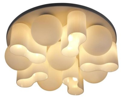 Люстра потолочная St luce SL539.502.16Потолочные<br>Касаемо коллекции модели St luce SL539.502.16 хотелось бы отметить основные моменты: Необычный дизайн люстр серий Schiuma позволит им стать оригинальной деталью интерьера, сделает его неповторимым. Металлическое основание серебристого или белого цвета прекрасно сочетается с плафонами из белого <br>матового стекла. Эти светильники станут акцентом в интерьере минимализма, постмодерна или хай-тека.<br><br>Установка на натяжной потолок: Ограничено<br>S освещ. до, м2: 42<br>Крепление: Планка<br>Тип лампы: накаливания / энергосбережения / LED-светодиодная<br>Тип цоколя: E27<br>Количество ламп: 16<br>Ширина, мм: 760<br>MAX мощность ламп, Вт: 40<br>Диаметр, мм мм: 760<br>Длина, мм: 760<br>Высота, мм: 230<br>Поверхность арматуры: матовая<br>Оттенок (цвет): белый<br>Цвет арматуры: белый