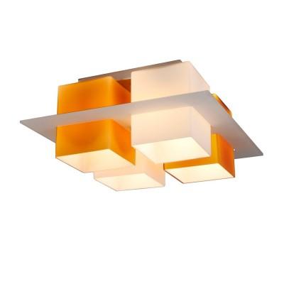 Светильник потолочный St luce SL540.092.04Архив<br>Касаемо коллекции модели St luce SL540.092.04 хотелось бы отметить основные моменты: Люстры коллекции Solido- это простота геометрических форм и высокое качество материалов. Стеклянные плафоны представлены в 4-х цветах (белом, черном, красном и янтарном) и нескольких цветовых сочетаниях. Стекло, объединяющее плафоны, может быть прозрачным тонированным или белым матовым. Используемая в светильниках модная контрастная цветовая гамма делает коллекцию универсальной. Люстры Solido станут акцентом современного интерьера в стиле модерн, хай-тек, минимализм или техно.<br><br>Установка на натяжной потолок: Ограничено<br>S освещ. до, м2: 16<br>Крепление: Планка<br>Тип лампы: накаливания / энергосбережения / LED-светодиодная<br>Тип цоколя: E27<br>Цвет арматуры: серый<br>Количество ламп: 4<br>Ширина, мм: 380<br>Длина, мм: 380<br>Высота, мм: 170<br>Поверхность арматуры: матовая<br>MAX мощность ламп, Вт: 60
