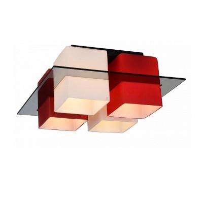 Светильник потолочный St luce SL540.602.04Потолочные<br>Касаемо коллекции модели St luce SL540.602.04 хотелось бы отметить основные моменты: Люстры коллекции Solido- это простота геометрических форм и высокое качество материалов. Стеклянные плафоны представлены в 4-х цветах (белом, черном, красном и янтарном) и нескольких цветовых сочетаниях. Стекло, объединяющее плафоны, может быть прозрачным тонированным или белым матовым. Используемая в светильниках модная контрастная цветовая гамма делает коллекцию универсальной. Люстры Solido станут акцентом современного интерьера в стиле модерн, хай-тек, минимализм или техно.<br><br>Установка на натяжной потолок: Ограничено<br>S освещ. до, м2: 16<br>Крепление: Планка<br>Тип товара: Люстра потолочная<br>Скидка, %: 25<br>Тип лампы: накаливания / энергосбережения / LED-светодиодная<br>Тип цоколя: E27<br>Количество ламп: 4<br>Ширина, мм: 380<br>MAX мощность ламп, Вт: 60<br>Длина, мм: 380<br>Высота, мм: 170<br>Поверхность арматуры: матовая<br>Цвет арматуры: серый
