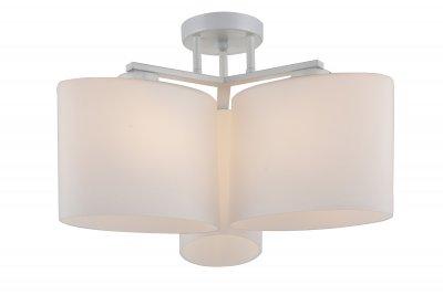 Люстра потолочная St luce SL544.502.03 AlleviareПотолочные<br><br><br>Установка на натяжной потолок: Да<br>S освещ. до, м2: 9<br>Крепление: Планка<br>Тип товара: Люстра потолочная<br>Тип лампы: накаливания / энергосбережения / LED-светодиодная<br>Тип цоколя: E27<br>Количество ламп: 3<br>MAX мощность ламп, Вт: 60<br>Диаметр, мм мм: 500<br>Высота, мм: 260<br>Поверхность арматуры: матовая<br>Цвет арматуры: белый