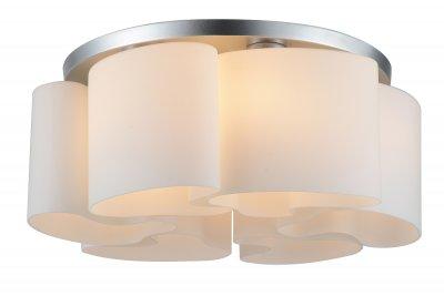 Люстра потолочная St luce SL545.502.06 NuvoleПотолочные<br>Если Вы настроены купить светильник модели SL54550206, то обратите внимание: Модели коллекции Ondata благодаря оригинальным дизайнерским плафонам гармонично вписываются как в интерьеры стиля модерн, так и в помещения, оформленные в стиле хай - тек. Плафоны из белого матового стекла изготовлены вручную, поэтому форма каждого плафона является уникальной и неповторимой. Основание выполнено из металла, окрашенного в цвет хрома.<br><br>Установка на натяжной потолок: Ограничено<br>S освещ. до, м2: 12<br>Крепление: Планка<br>Тип лампы: накаливания / энергосбережения / LED-светодиодная<br>Тип цоколя: E27<br>Количество ламп: 6<br>MAX мощность ламп, Вт: 40<br>Диаметр, мм мм: 600<br>Высота, мм: 230<br>Поверхность арматуры: матовая<br>Цвет арматуры: серебристый
