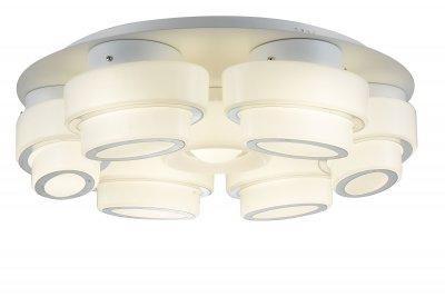 Люстра потолочная St luce SL546.502.07 OvaleПотолочные<br>Если Вы настроены купить светильник модели SL54650207, то обратите внимание: Люстра коллекции Ovale -стильная композиция, которую по достоинству оценят те, кто предпочитает смелые и высокотехнологичные решения в дизайне. Конструкция представляет собой сочетание стеклянных цилиндров разного диаметра и металла, окрашенного в белый цвет. В качестве источника света в моделях Ovale используются светодиодные лампы.<br>Потолочные светильники коллекции Ovale наполняют пространство равномерным мягким светом. Они станут акцентом в минималистический интерьере, оформленном в стиле техно или хай - тек.<br><br>Установка на натяжной потолок: Да<br>S освещ. до, м2: 33<br>Крепление: Планка<br>Тип лампы: LED - светодиодная<br>Тип цоколя: LED<br>Цвет арматуры: белый<br>Количество ламп: 7<br>Ширина, мм: 180<br>Длина, мм: 620<br>Высота, мм: 180<br>Поверхность арматуры: матовая<br>MAX мощность ламп, Вт: 12