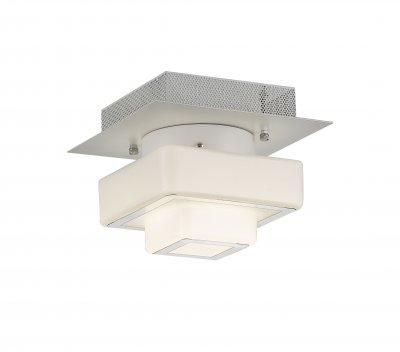 Люстра потолочная St luce SL547.502.01 СubicoПотолочные<br>Если Вы настроены купить светильник модели SL54750201, то обратите внимание: Люстры коллекции Cubico станут оригинальным дополнением интерьеров в стиле техно или хай - тек. Это стильные светильники, которые по достоинству оценят те, кто предпочитает смелые и высокотехнологичные решения в оформлении помещений.Конструкция представляет собой сочетание стеклянных кубиков разного размера и металла, окрашенного в белый цвет. В качестве источника света в моделях Cubico используются светодиодные лампы LED. Эти потолочные светильники наполняют пространство равномерным мягким светом<br><br>Установка на натяжной потолок: Да<br>S освещ. до, м2: 1<br>Крепление: Планка<br>Тип лампы: LED - светодиодная<br>Тип цоколя: LED<br>Количество ламп: 1<br>Ширина, мм: 225<br>MAX мощность ламп, Вт: 12<br>Длина, мм: 225<br>Высота, мм: 180<br>Поверхность арматуры: матовая<br>Цвет арматуры: белый