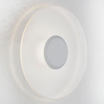 Светильник St Luce SL562.501.01Настенные<br>Если Вы настроены купить светильник модели SL56250101, то обратите внимание: Оригинальные бра коллекции Molto идеально подойдут для жилых и нежилых помещений, выдержанных в стиле хай тек, техно или минимализм.Необычная форма, простой и лаконичный дизайн позволяют этим светильникам стать эффектным украшением комнаты или стены загородного дома. Основание светильника выполнено из металла и окрашено в белый или черный цвет.<br><br>Цветовая t, К: 4000<br>Тип лампы: LED<br>Тип цоколя: LED<br>MAX мощность ламп, Вт: 6<br>Диаметр, мм мм: 300<br>Расстояние от стены, мм: 45