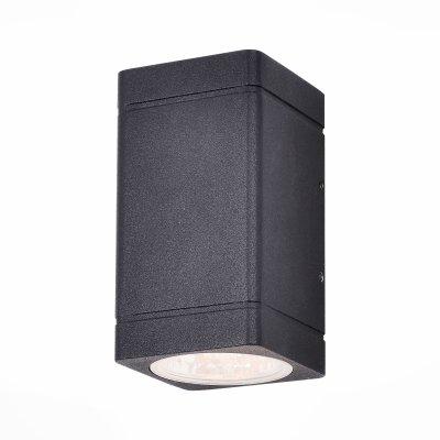 SL563.401.02 Светильник уличный настенный ST Luce Черный/Прозрачный LED 2*8WОжидается<br>Если Вы настроены купить светильник модели SL56340102, то обратите внимание: Уличные бра коллекции Coctobus -воплощение минималистической дизайн- концепции. Строгая форма светильника лишь подчеркивает его совершенство. Корпус выполнен из алюминия и окрашен в чёрный или серый цвет. Светильники имеют степень защиты IP 44 и предназначены для зонального освещения стен зданий и других архитектурных сооружений.<br>