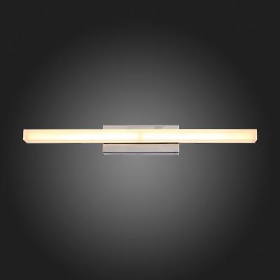 Светильник настенный бра St luce SL565.101.01длинные настенно-потолочные светильники<br>Если Вы настроены купить светильник модели SL56510101, то обратите внимание: Модели коллекции Moderno идеально подойдут для тех, кто не любит лишних деталей в интерьере ванной, коридора, кухни, спальни. Основание светильников выполнено из металла цвета хрома, а плафон- из акрила. Модели коллекции Moderno создадут локальное освещение интерьера в минималистическом стиле или стиле модерн.<br><br>S освещ. до, м2: 2<br>Цветовая t, К: 4000<br>Тип лампы: LED<br>Тип цоколя: LED<br>Ширина, мм: 400<br>Расстояние от стены, мм: 82<br>Высота, мм: 50<br>MAX мощность ламп, Вт: 5