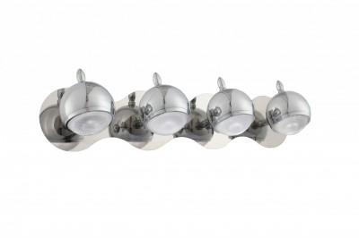 Светильник St luce SL570.101.04С 4 лампами<br>Касаемо коллекции модели St luce SL570.101.04 хотелось бы отметить основные моменты: Светильники коллекции Polo созданы для локального освещения в современных интерьерах. Основание и плафоны выполнены из металла с покрытием хром и снизу закрыты полупрозрачным акрилом. Шарнирный механизм позволяет изменять положение плафонов.<br><br>S освещ. до, м2: 5<br>Крепление: планка<br>Цветовая t, К: CW - дневной белый 6000 К<br>Тип лампы: LED - светодиодная<br>Тип цоколя: LED<br>Цвет арматуры: серебристый<br>Количество ламп: 4<br>Ширина, мм: 540<br>Расстояние от стены, мм: 160<br>Высота, мм: 120<br>Поверхность арматуры: глянцевая<br>MAX мощность ламп, Вт: 3