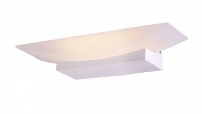 Светильник St luce SL581.101.01Хай-тек<br>Касаемо коллекции модели St luce SL581.101.01 хотелось бы отметить основные моменты: Простота и элегантность бра Calice делает его востребованным при оформлении помещений в разных стилевых направлениях. Основание светильника изготовлено из металла белого цвета и матового акрила. Источник света - LED.<br><br>Крепление: Планка<br>Цветовая t, К: CW - холодный белый 4000 К<br>Тип лампы: LED - светодиодная<br>Тип цоколя: LED<br>Количество ламп: 1<br>Ширина, мм: 300<br>MAX мощность ламп, Вт: 6<br>Расстояние от стены, мм: 110<br>Высота, мм: 60<br>Поверхность арматуры: матовая<br>Цвет арматуры: белый