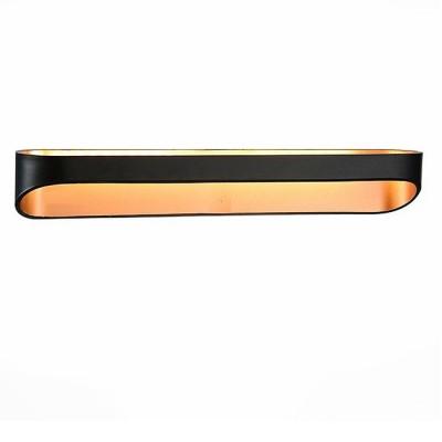 Светильник St Luce SL582.401.01Хай-тек<br>Если Вы настроены купить светильник модели SL58240101, то обратите внимание: Высокотехничный минимализм - так можно описать дизайн бра Mensola. Это отличное дополнение интерьера в стиле хай-тек, модерн или техно. Корпус светильников изготовлен из высококачественного металла с белым матовым покрытием. Источник света - LED.<br><br>Цветовая t, К: 4000<br>Тип лампы: LED<br>Ширина, мм: 580<br>MAX мощность ламп, Вт: 12<br>Высота, мм: 65
