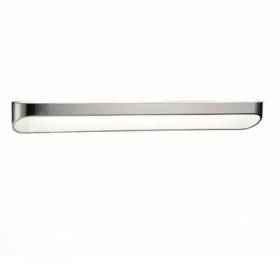 Светильник St Luce SL582.711.01Бра хай тек стиля<br>Если Вы настроены купить светильник модели SL58271101, то обратите внимание: Высокотехничный минимализм - так можно описать дизайн бра Mensola. Это отличное дополнение интерьера в стиле хай-тек, модерн или техно. Корпус светильников изготовлен из высококачественного металла с белым матовым покрытием. Источник света - LED.<br><br>Цветовая t, К: 4000<br>Тип лампы: LED<br>Тип цоколя: LED<br>Ширина, мм: 580<br>Высота, мм: 65<br>MAX мощность ламп, Вт: 18