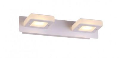 Светильник St luce SL583.101.02Хай-тек<br>Касаемо коллекции модели St luce SL583.101.02 хотелось бы отметить основные моменты: Высокотехничный минимализм - так можно описать дизайн бра Scaf. Это отличное дополнение интерьера в стиле хай-тек, модерн или техно. Светильник изготовлен из металла с покрытием белого матового цвета и акрила. Источник света - LED<br><br>Крепление: Планка<br>Цветовая t, К: CW - холодный белый 4000 К<br>Тип лампы: LED - светодиодная<br>Тип цоколя: LED<br>Цвет арматуры: белый<br>Количество ламп: 2<br>Ширина, мм: 300<br>Расстояние от стены, мм: 130<br>Высота, мм: 60<br>Поверхность арматуры: матовая<br>MAX мощность ламп, Вт: 3