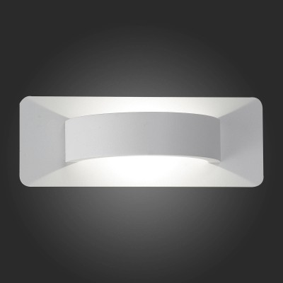 Светильник St Luce SL593.501.01Прямоугольные<br><br><br>Цветовая t, К: 4000<br>Тип лампы: LED<br>Тип цоколя: LED<br>Ширина, мм: 190<br>MAX мощность ламп, Вт: 3<br>Расстояние от стены, мм: 70<br>Высота, мм: 30