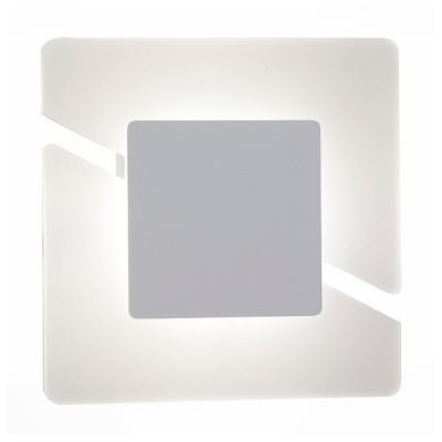 Светильник St Luce SL594.501.01Хай-тек<br>Если Вы настроены купить светильник модели SL59450101, то обратите внимание: Картина современного художника-авангардиста, оригинальная настенная скульптура или светильник из новаторской коллекции? Такую необычную деталь интерьера трудно обойти вниманием – лампа внутри светильника скрыта в геометрических элементах, позволяя любоваться дизайном, пока светильник выполняет свою основную функцию. Квадратное основание поделено на две части косым разрезом, а сверху наложен матовый квадрат серого цвета, подсвечиваемый лампой. Строго, но со вкусом, как и полагается стильному декоративному элементу.<br><br>Цветовая t, К: 4000<br>Тип лампы: LED<br>Тип цоколя: LED<br>Ширина, мм: 280<br>MAX мощность ламп, Вт: 7.5<br>Высота, мм: 280