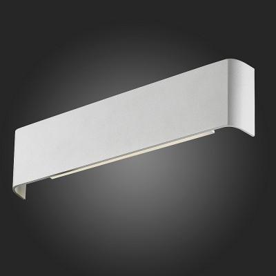 Светильник настенный St Luce SL598.511.01Хай-тек<br>Если Вы настроены купить светильник модели SL59851101, то обратите внимание: Когда ничто не должно отвлекать, когда все должно быть просто и ясно, нужны чёткие линии и незатейливая геометрия,- светильники коллекции Cambretta будут как нельзя кстати. Выполненые из металла и окрашенные в чёрный цвет, они идеально впишутся в любой интерьер, создав приватную атмосферу. Хорошо подойдут светильники коллекции Cambretta в качестве ночника. Гармоничным окажется их использование при организации освещения в общественных местах, таких как кафе, бары, клубы.<br><br>Цветовая t, К: 4000<br>Тип лампы: LED<br>Тип цоколя: LED<br>Ширина, мм: 350<br>Высота, мм: 85<br>MAX мощность ламп, Вт: 18