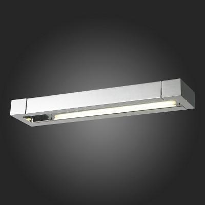 Светильник St Luce SL599.501.01Хай-тек<br>Если Вы настроены купить светильник модели SL59950101, то обратите внимание: Светильники коллекции Grafeta поражают оригинальным дизайном с продуманным исполнением. Они идеально впишутся в интерьер и подчеркнут его ультрасовременный стиль. Уникальные плафоны этих моделей могут совешать движения в разных плоскостях, что позволяет достигнуть высоких параметров освещенности. Тонированные стеклянные вставки, декорирующие светодиоды, создают впечатление матовой глубины. Металлическое основание светильника цвета хрома дополнено зеркальным эффектом. Модели коллекции Grafeta позволяют комплексно осветить пространство.<br><br>Цветовая t, К: 4000<br>Тип лампы: LED<br>Тип цоколя: LED<br>Ширина, мм: 440<br>MAX мощность ламп, Вт: 12<br>Расстояние от стены, мм: 95<br>Высота, мм: 40