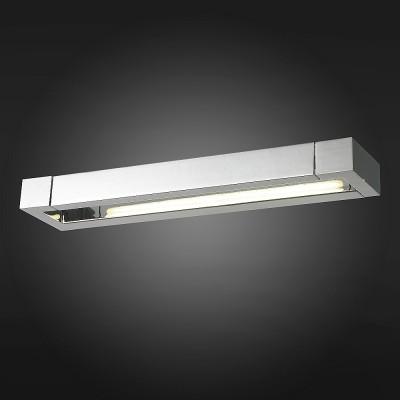 Светильник St Luce SL599.511.01Хай-тек<br>Если Вы настроены купить светильник модели SL59951101, то обратите внимание: Светильники коллекции Grafeta поражают оригинальным дизайном с продуманным исполнением. Они идеально впишутся в интерьер и подчеркнут его ультрасовременный стиль. Уникальные плафоны этих моделей могут совешать движения в разных плоскостях, что позволяет достигнуть высоких параметров освещенности. Тонированные стеклянные вставки, декорирующие светодиоды, создают впечатление матовой глубины. Металлическое основание светильника цвета хрома дополнено зеркальным эффектом. Модели коллекции Grafeta позволяют комплексно осветить пространство.<br><br>Цветовая t, К: 4000<br>Тип лампы: LED<br>Ширина, мм: 440<br>MAX мощность ламп, Вт: 12<br>Расстояние от стены, мм: 95