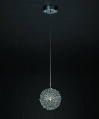 Светильник подвесной St luce SL611.003.01Галогенные<br><br><br>Установка на натяжной потолок: Да<br>S освещ. до, м2: 2<br>Крепление: Планка<br>Тип товара: светильник подвесной<br>Тип лампы: галогенная / LED-светодиодная<br>Тип цоколя: G9<br>Количество ламп: 1<br>Ширина, мм: 150<br>MAX мощность ламп, Вт: 40<br>Длина, мм: 150<br>Высота, мм: 1000<br>Оттенок (цвет): никель<br>Цвет арматуры: серый