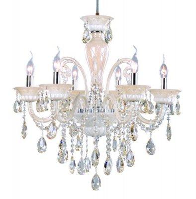 Люстра подвесная St luce SL632.503.06Подвесные<br><br><br>S освещ. до, м2: 16<br>Тип товара: люстра подвесная<br>Тип лампы: накаливания / энергосбережения / LED-светодиодная<br>Тип цоколя: E14<br>Количество ламп: 6<br>Ширина, мм: 640<br>MAX мощность ламп, Вт: 40<br>Длина, мм: 1200<br>Высота, мм: 600<br>Оттенок (цвет): белый<br>Цвет арматуры: бежевый