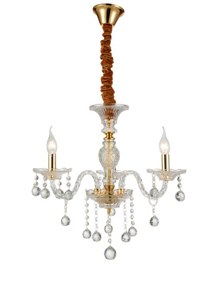 Люстра подвесная St luce SL643.203.03Подвесные<br><br><br>Установка на натяжной потолок: Да<br>Крепление: Крюк<br>Тип товара: Люстра подвесная<br>Скидка, %: 24<br>Тип лампы: накаливания / энергосбережения / LED-светодиодная<br>Тип цоколя: E14<br>Количество ламп: 3<br>MAX мощность ламп, Вт: 40<br>Диаметр, мм мм: 450<br>Высота, мм: 530<br>Поверхность арматуры: глянцевая<br>Цвет арматуры: Золотой