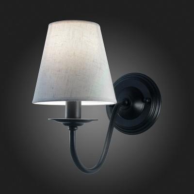 Светильник St Luce SL684.401.01Модерн<br><br><br>Тип товара: Светильник настенный бра<br>Тип лампы: Накаливания / энергосбережения / светодиодная<br>Тип цоколя: E27<br>Количество ламп: 1<br>Ширина, мм: 150<br>MAX мощность ламп, Вт: 60<br>Расстояние от стены, мм: 320<br>Высота, мм: 270