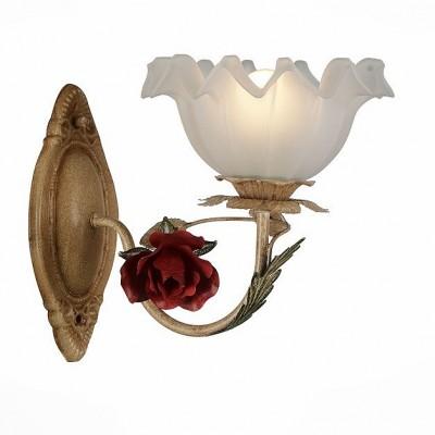 Светильник St Luce SL687.751.01Флористика<br>Если Вы настроены купить светильник модели SL68775101, то обратите внимание: Подвесные светильники Mazzo в изобилии демонстрирует красоту цветочного ансамбля из бутонов роз! Нежная листва и соцветия роз красного цвета выкованы из металла так мастерски, что выглядят как настоящие цветущие растения. Роскошный образ люстры Mazzo гармонично дополняют нежные плафоны из белого стекла. Композиционная форма и реалистичность моделей Mazzo вдохновляют на создание романтичного интерьера в доме или на солнечной веранде!<br><br>Тип лампы: Накаливания / энергосбережения / светодиодная<br>Тип цоколя: E27<br>Ширина, мм: 190<br>MAX мощность ламп, Вт: 60<br>Высота, мм: 245