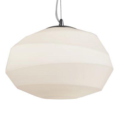 Светильник подвесной St luce SL706.553.01Одиночные<br>Если Вы настроены купить светильник модели SL70655301, то обратите внимание: Светильники коллекции Zuca - это сочетание дизайнерского креатива и функциональности. Такая люстра украсит апартаменты в стиле современной классики, минимализма или фьюжн. Интерьер делают детали, и именно таким оригинальным элементом комнаты могут стать люстры коллекции Zuca. Асимметричный стеклянный плафон выглядит стильно и актуально. Такое оригинальное исполнение понравится ценителям смелых решений и неординарного подхода к оформлению интерьера.<br><br>S освещ. до, м2: 3<br>Крепление: на планку<br>Тип лампы: накаливания / энергосбережения / LED-светодиодная<br>Тип цоколя: E27<br>Цвет арматуры: серебристый хром<br>Количество ламп: 1<br>Диаметр, мм мм: 420<br>Длина цепи/провода, мм: 1100<br>Высота, мм: 330<br>Поверхность арматуры: глянцевая<br>Оттенок (цвет): белый<br>MAX мощность ламп, Вт: 60