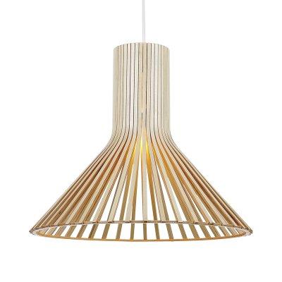 Светильник подвесной St luce SL709.773.01Одиночные<br><br><br>Крепление: на планку<br>Тип товара: Подвесной светильник<br>Тип лампы: накаливания / энергосбережения / LED-светодиодная<br>Тип цоколя: E27<br>Количество ламп: 1<br>MAX мощность ламп, Вт: 60<br>Диаметр, мм мм: 460<br>Длина цепи/провода, мм: 1100<br>Высота, мм: 410<br>Поверхность арматуры: матовая<br>Оттенок (цвет): светлое дерево<br>Цвет арматуры: Белый