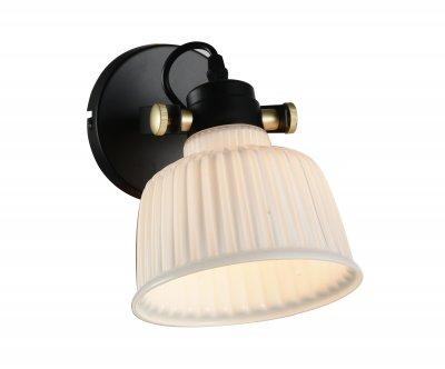 Светильник настенный бра St luce SL714.401.01Современные<br>Если Вы настроены купить светильник модели SL71440101, то обратите внимание: Люстры коллекции Aletante выглядят современно, прекрасно выполняют свои осветительные функции и помогают создать неповторимый образ интерьера. Классический дизайн сочетается с функциональностью конструкции. Благодаря возможности вращать плафоны, можно осветить определенную зону комнаты, создав световые акценты на особенностях интерьера. Глянцевое стекло оригинально дополняется металлическими элементами черного и золотого цвета. Эти люстры станут яркой деталью в современных интерьерах - от модерна до урбан.<br><br>Крепление: на планку<br>Тип лампы: накаливания / энергосбережения / LED-светодиодная<br>Тип цоколя: E14<br>Цвет арматуры: Золотой<br>Количество ламп: 1<br>Ширина, мм: 160<br>Расстояние от стены, мм: 300<br>Высота, мм: 150<br>Поверхность арматуры: матовая<br>MAX мощность ламп, Вт: 40