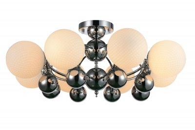 Люстра потолочная St luce SL715.102.08Потолочные<br><br><br>Установка на натяжной потолок: Да<br>S освещ. до, м2: 24<br>Крепление: Планка<br>Тип товара: Люстра потолочная<br>Тип лампы: накаливания / энергосбережения / LED-светодиодная<br>Тип цоколя: E27<br>Количество ламп: 8<br>MAX мощность ламп, Вт: 60<br>Диаметр, мм мм: 820<br>Высота, мм: 410<br>Поверхность арматуры: глянцевая<br>Цвет арматуры: серебристый