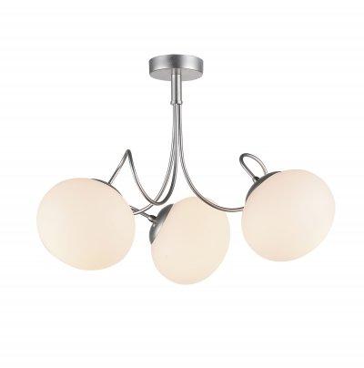 Люстра потолочная St luce SL717.502.03 AciniПотолочные<br><br><br>Установка на натяжной потолок: Да<br>Крепление: Планка<br>Тип товара: Люстра потолочная<br>Тип лампы: накаливания / энергосбережения / LED-светодиодная<br>Тип цоколя: E27<br>Количество ламп: 3<br>MAX мощность ламп, Вт: 40<br>Диаметр, мм мм: 550<br>Высота, мм: 370<br>Поверхность арматуры: матовая<br>Цвет арматуры: серебристый