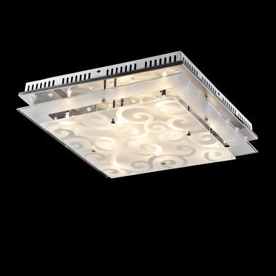 Светильник потолочный St luce SL739.102.09Архив<br>Компания «Светодом» предлагает широкий ассортимент люстр от известных производителей. Представленные в нашем каталоге товары выполнены из современных материалов и обладают отличным качеством. Благодаря широкому ассортименту Вы сможете найти у нас люстру под любой интерьер. Мы предлагаем как классические варианты, так и современные модели, отличающиеся лаконичностью и простотой форм.  Стильная люстра St luce SL739.102.09 станет украшением любого дома. Эта модель от известного производителя не оставит равнодушным ценителей красивых и оригинальных предметов интерьера. Люстра St luce SL739.102.09 обеспечит равномерное распределение света по всей комнате. При выборе обратите внимание на характеристики, позволяющие приобрести наиболее подходящую модель. Купить понравившуюся люстру по доступной цене Вы можете в интернет-магазине «Светодом». Мы предлагаем доставку не только по Москве и Екатеринбурге, но и по всей России.<br><br>Установка на натяжной потолок: Ограничено<br>S освещ. до, м2: 12<br>Крепление: Планка<br>Тип лампы: галогенная / LED-светодиодная<br>Тип цоколя: G4<br>Количество ламп: 9<br>Ширина, мм: 500<br>MAX мощность ламп, Вт: 20<br>Длина, мм: 500<br>Высота, мм: 150<br>Цвет арматуры: серебристый