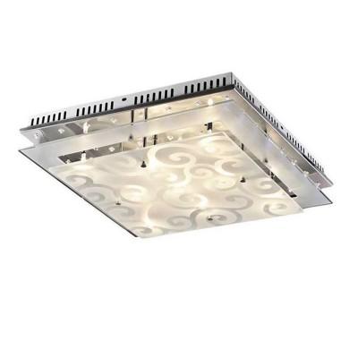 Светильник потолочный St luce SL739.102.09Потолочные<br>Компания «Светодом» предлагает широкий ассортимент люстр от известных производителей. Представленные в нашем каталоге товары выполнены из современных материалов и обладают отличным качеством. Благодаря широкому ассортименту Вы сможете найти у нас люстру под любой интерьер. Мы предлагаем как классические варианты, так и современные модели, отличающиеся лаконичностью и простотой форм. <br>Стильная люстра St luce SL739.102.09 станет украшением любого дома. Эта модель от известного производителя не оставит равнодушным ценителей красивых и оригинальных предметов интерьера. Люстра St luce SL739.102.09 обеспечит равномерное распределение света по всей комнате. При выборе обратите внимание на характеристики, позволяющие приобрести наиболее подходящую модель. <br>Купить понравившуюся люстру по доступной цене Вы можете в интернет-магазине «Светодом». Мы предлагаем доставку не только по Москве и Екатеринбурге, но и по всей России.<br><br>Установка на натяжной потолок: Ограничено<br>S освещ. до, м2: 12<br>Крепление: Планка<br>Тип лампы: галогенная / LED-светодиодная<br>Тип цоколя: G4<br>Цвет арматуры: серебристый<br>Количество ламп: 9<br>Ширина, мм: 500<br>Длина, мм: 500<br>Высота, мм: 150<br>MAX мощность ламп, Вт: 20