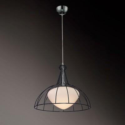 Светильник St Luce SL750.403.01Одиночные<br><br><br>Тип товара: Подвесной светильник<br>Тип лампы: Накаливания / энергосбережения / светодиодная<br>Тип цоколя: E27<br>Количество ламп: 1<br>MAX мощность ламп, Вт: 60<br>Диаметр, мм мм: 400<br>Высота, мм: 1200