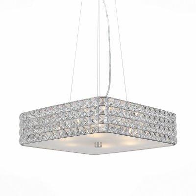 Светильник St Luce SL751.103.06Подвесные<br><br><br>Тип товара: люстра подвесная<br>Тип лампы: Накаливания / энергосбережения / светодиодная<br>Тип цоколя: E14<br>Количество ламп: 6<br>Ширина, мм: 400<br>MAX мощность ламп, Вт: 40<br>Длина, мм: 400<br>Высота, мм: 150 - 1200