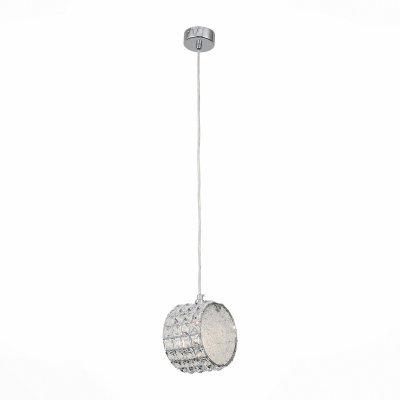 Светильник St Luce SL752.103.01Одиночные<br><br><br>Тип товара: Подвесной светильник<br>Тип лампы: Накаливания / энергосбережения / светодиодная<br>Тип цоколя: E14<br>Ширина, мм: 160<br>MAX мощность ламп, Вт: 40<br>Длина, мм: 100<br>Высота, мм: 160