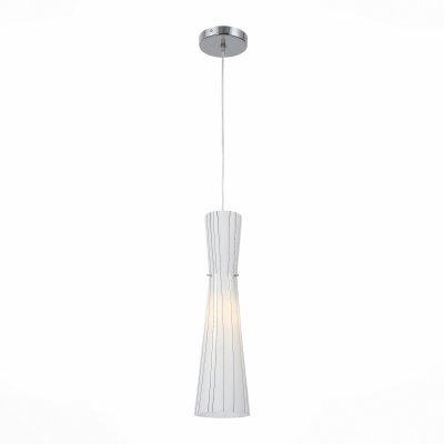 Светильник St Luce SL754.543.01Одиночные<br><br><br>Тип товара: Подвесной светильник<br>Тип лампы: Накаливания / энергосбережения / светодиодная<br>Тип цоколя: E27<br>MAX мощность ламп, Вт: 60<br>Диаметр, мм мм: 122<br>Высота, мм: 460 - 1200