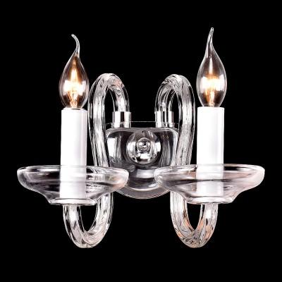 Светильник настенный бра St luce SL757.101.02Современные<br>Если Вы настроены купить светильник модели SL75710102, то обратите внимание: Разнообразить обстановку, придать ей нарядный и торжественно вид смогут люстры из коллекции Ninfa. Основание выполнено из металла с покрытием хром. Благородный блистающий цвет хрома гармонично сочетается с декоративными элементами из прозрачного и пурпурного хрустального стекла. Это яркое сочетание создает эффектную стилистическую композицию. <br>Люстры и бра коллекции Ninfa идеально подойдут для столовых, гостиных и спальных комнат.<br><br>Тип лампы: Накаливания / энергосбережения / светодиодная<br>Тип цоколя: E14<br>Количество ламп: 2<br>Ширина, мм: 450<br>MAX мощность ламп, Вт: 40<br>Расстояние от стены, мм: 200<br>Высота, мм: 150