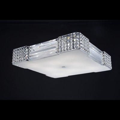 Светильник потолочный St luce SL778.102.08снятые с производства светильники<br>Компания «Светодом» предлагает широкий ассортимент люстр от известных производителей. Представленные в нашем каталоге товары выполнены из современных материалов и обладают отличным качеством. Благодаря широкому ассортименту Вы сможете найти у нас люстру под любой интерьер. Мы предлагаем как классические варианты, так и современные модели, отличающиеся лаконичностью и простотой форм.  Стильная люстра St luce SL778.102.08 станет украшением любого дома. Эта модель от известного производителя не оставит равнодушным ценителей красивых и оригинальных предметов интерьера. Люстра St luce SL778.102.08 обеспечит равномерное распределение света по всей комнате. При выборе обратите внимание на характеристики, позволяющие приобрести наиболее подходящую модель. Купить понравившуюся люстру по доступной цене Вы можете в интернет-магазине «Светодом». Мы предлагаем доставку не только по Москве и Екатеринбурге, но и по всей России.<br><br>Установка на натяжной потолок: Ограничено<br>S освещ. до, м2: 28<br>Крепление: Планка<br>Тип лампы: галогенная / LED-светодиодная<br>Тип цоколя: G9<br>Количество ламп: 8<br>Ширина, мм: 590<br>Длина, мм: 590<br>Высота, мм: 140<br>Оттенок (цвет): серебристый<br>MAX мощность ламп, Вт: 53