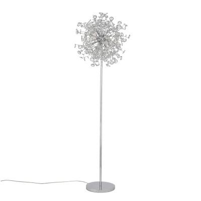Торшер St luce SL782.105.05Декоративные<br>Если Вы настроены купить светильник модели SL78210505, то обратите внимание: Необычные люстры коллекции Anello поражают своим ослепительным блеском. Основание выполнено из металла с покрытием хром и декорировано хрустальными кристаллами. Яркое сияние высококачественного хрусталя создает загадочную игру света в интерьере.<br><br>Тип лампы: галогенная/LED<br>Тип цоколя: G9<br>Количество ламп: 5<br>MAX мощность ламп, Вт: 28<br>Диаметр, мм мм: 500<br>Высота, мм: 1700<br>Цвет арматуры: серебристый