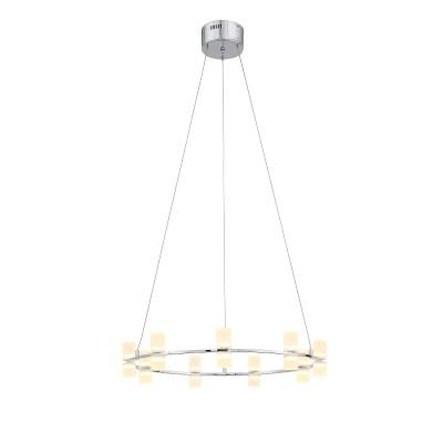 Люстра подвесная St luce SL799.103.09 CILINDROподвесные люстры хай тек<br>Лаконичные формы светильников коллекции Cilindro, поражают своим мягким светом и необычным дизайном, что привлекает наше внимание. Хоровод светодиодных  ламп,  скрытыми за молочно белыми акриловыми плафонами, настраивает на романтический лад. Комната наполняется приятным мягким светом, мечтательным настроением и восторженными взглядами.<br><br>Крепление: планка<br>Цветовая t, К: 3200<br>Тип лампы: LED - светодиодная<br>Тип цоколя: LED, встроенные светодиоды<br>Цвет арматуры: серебристый<br>Количество ламп: 9<br>Диаметр, мм мм: 620<br>Высота полная, мм: 1200<br>Высота, мм: 150<br>Поверхность арматуры: блестящая<br>Оттенок (цвет): серебристный<br>MAX мощность ламп, Вт: 4<br>Общая мощность, Вт: 36